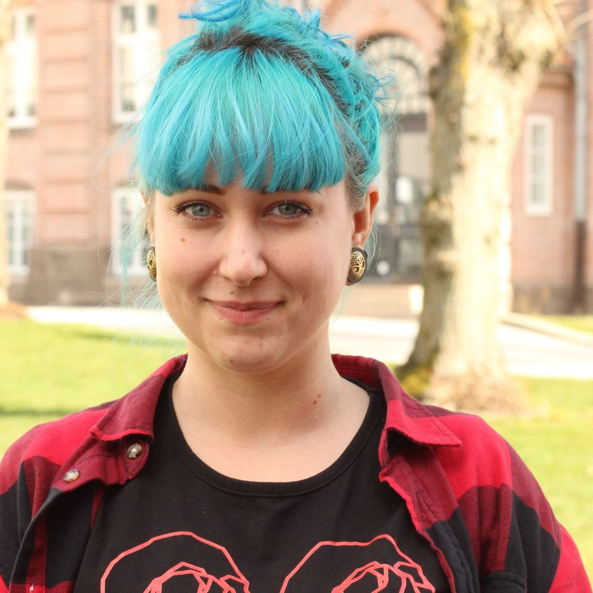 Marie Andersen, studerer  ernæring ogsundhed