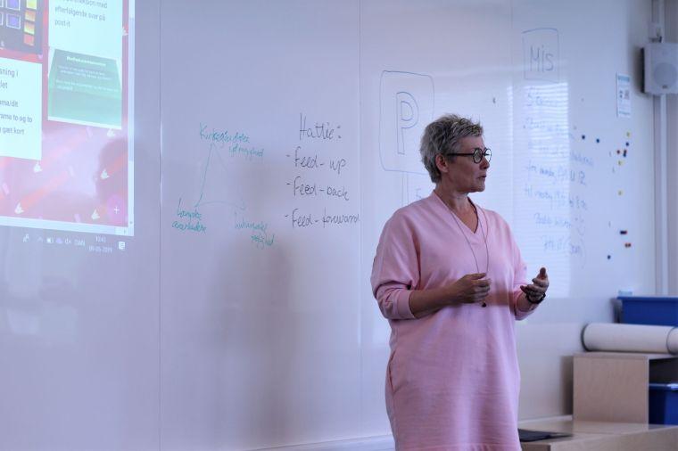 Underviser på pædagoguddannelsen, Anette Knudsen.